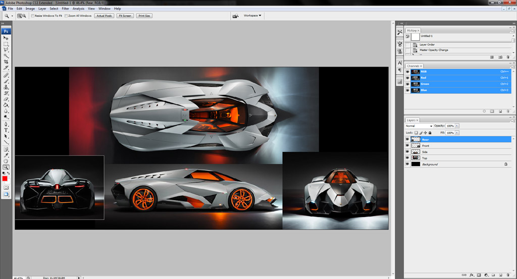 Building the lamborghini egoista 3d model sketchfab blog now that we had a rough estimated blueprint we could start building the car malvernweather