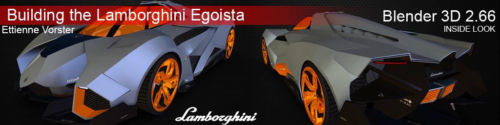 Sketchfab Community Blog Building The Lamborghini Egoista 3d Model