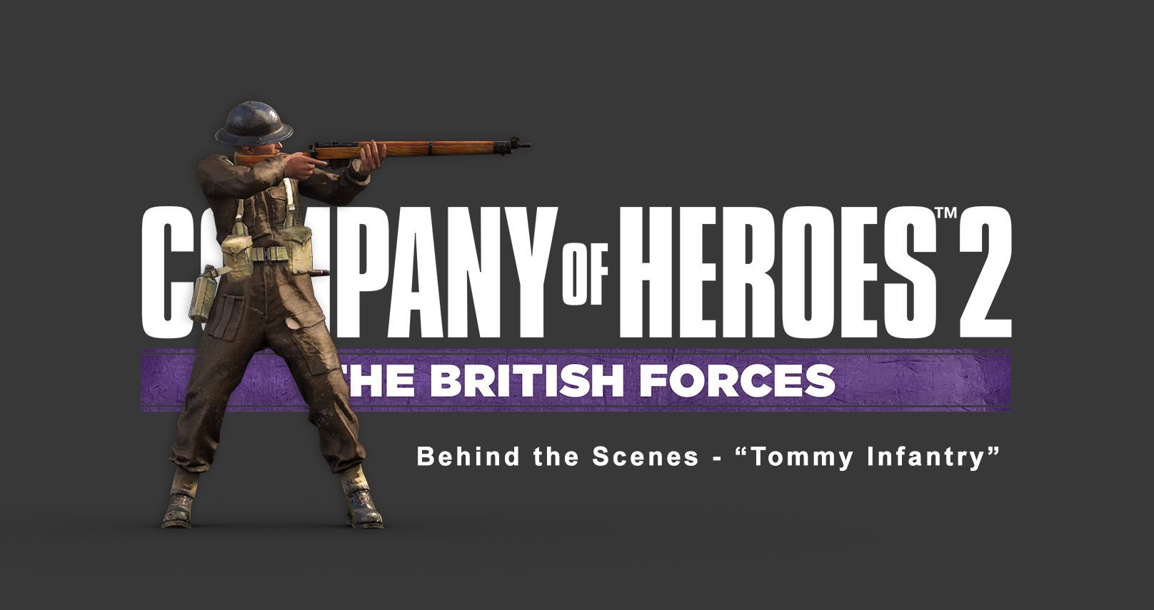 Art Spotlight - Company of Heroes 2 - Tommy Infantry