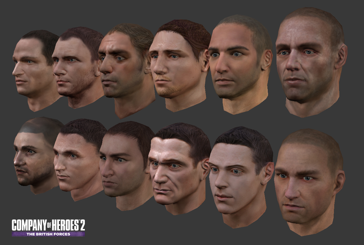 Company of Heroes 2 - Tommy Infantry - Character library