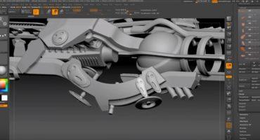 Time lapse- Spaceship design using Zbrush