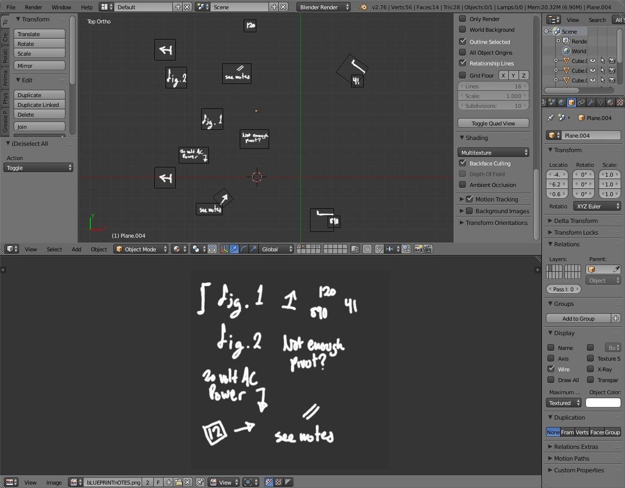 Tutorial creating 3d blueprints sketchfab blog fig 5 transparent annotations in scene malvernweather Images