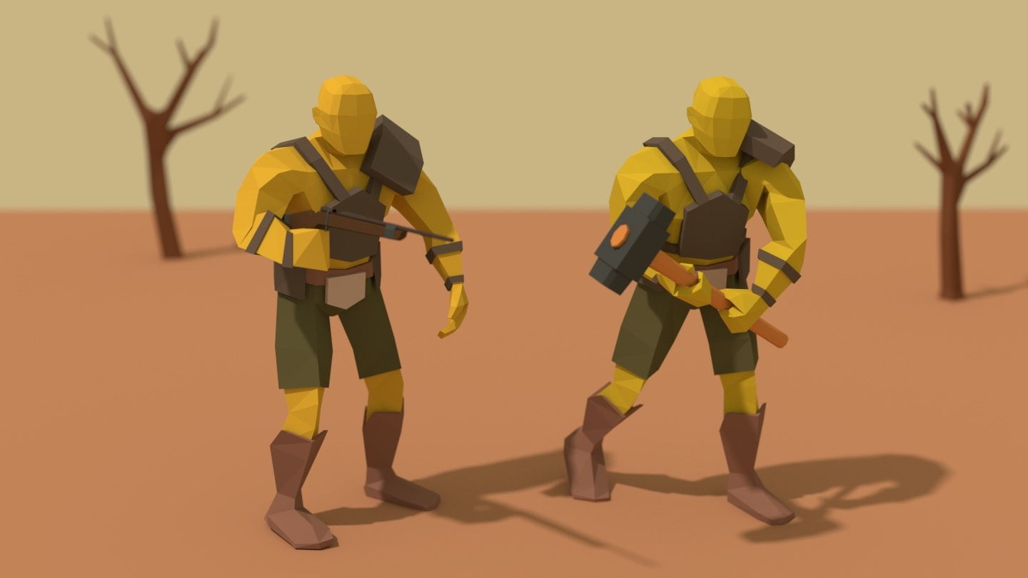 I Tried Unity S Toon Shader With My Low Poly Game And I – Migliori
