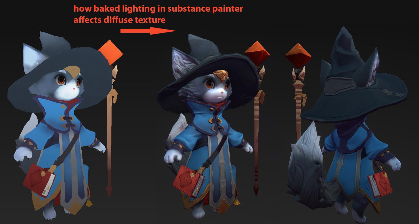 Sketchfab Community Blog - Art Spotlight: Wizard Cat