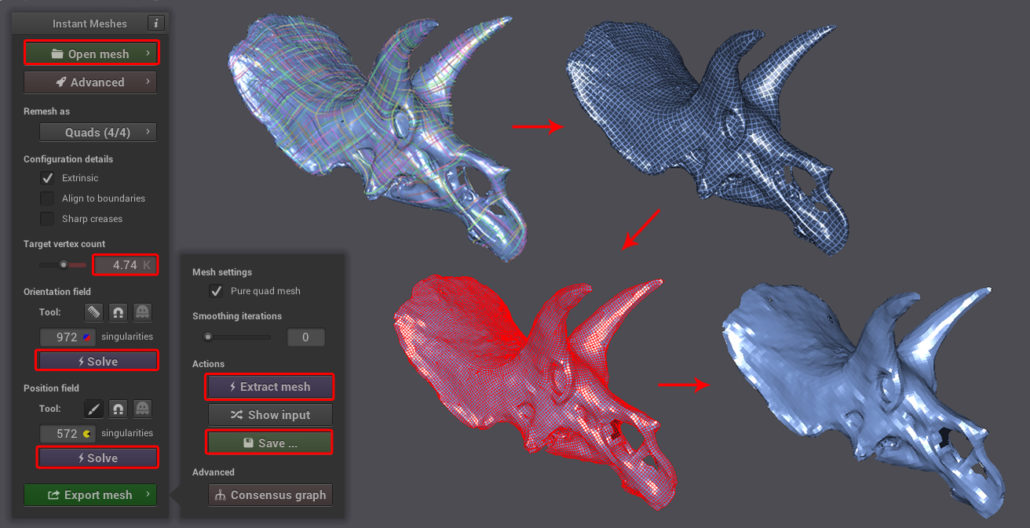 Sketchfab Community Blog - How to retopologize 3D scans into