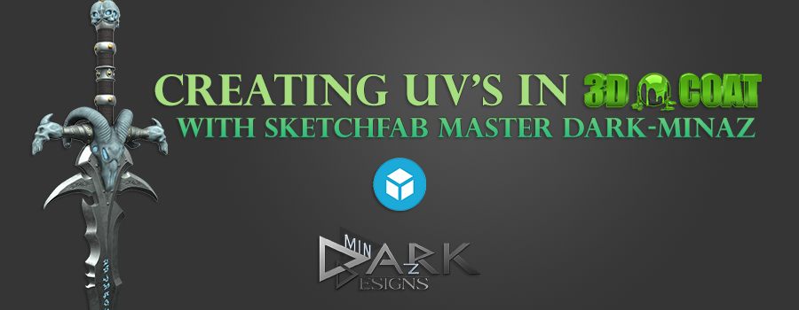 Sketchfab Community Blog - 3D-Coat: UV's and the search for the