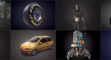 PBR 3D Models on Sketchfab