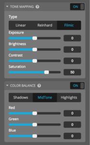 sketchfab post-processing filters