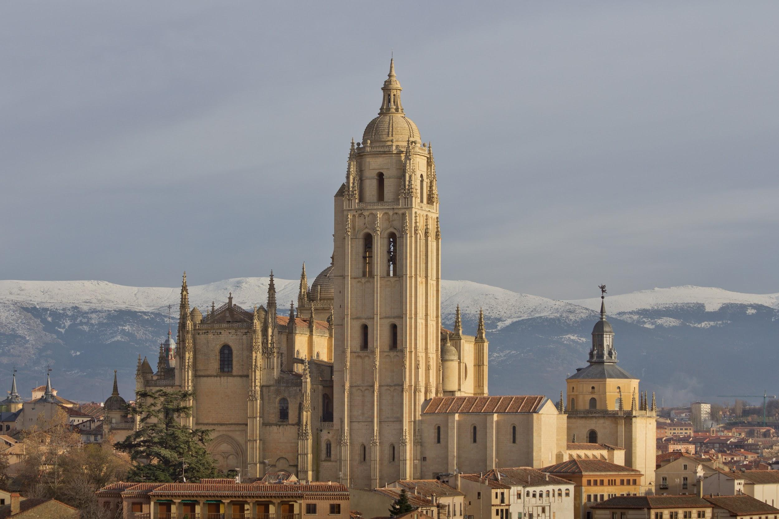 Fig. 1: Saint Mary's cathedral of Segovia.