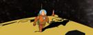 """Art Spotlight: Tintin """"Explorers on the Moon"""""""