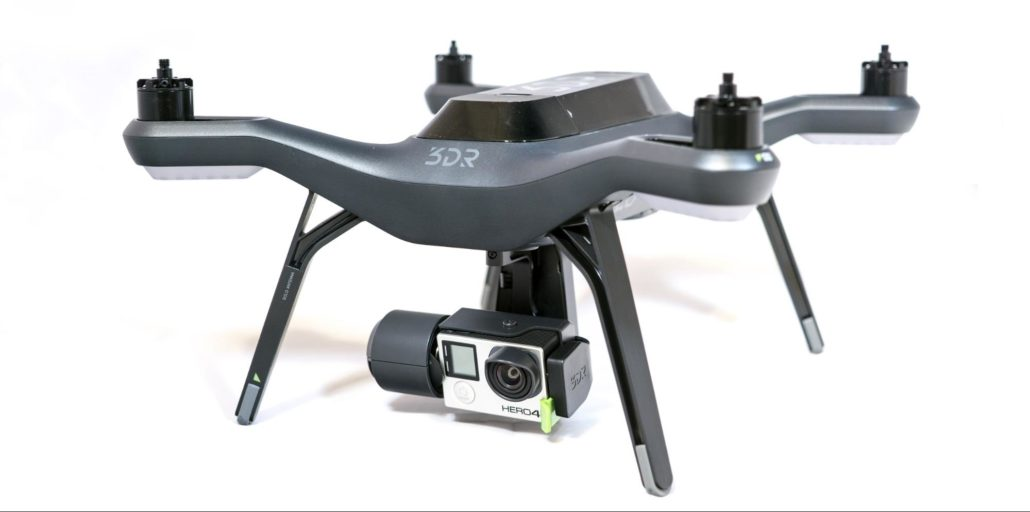 The 3DR SOLO with GoPro Hero 4 Black