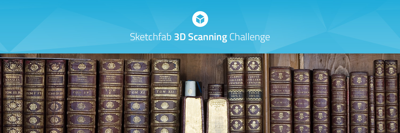 Sketchfab Community Blog - Sketchfab 3D Scanning Challenge: Books