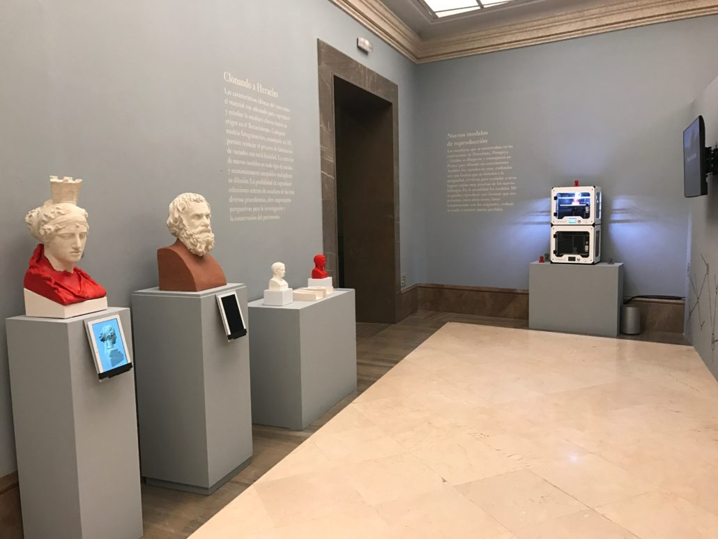 3d printing and virtual reality for museums