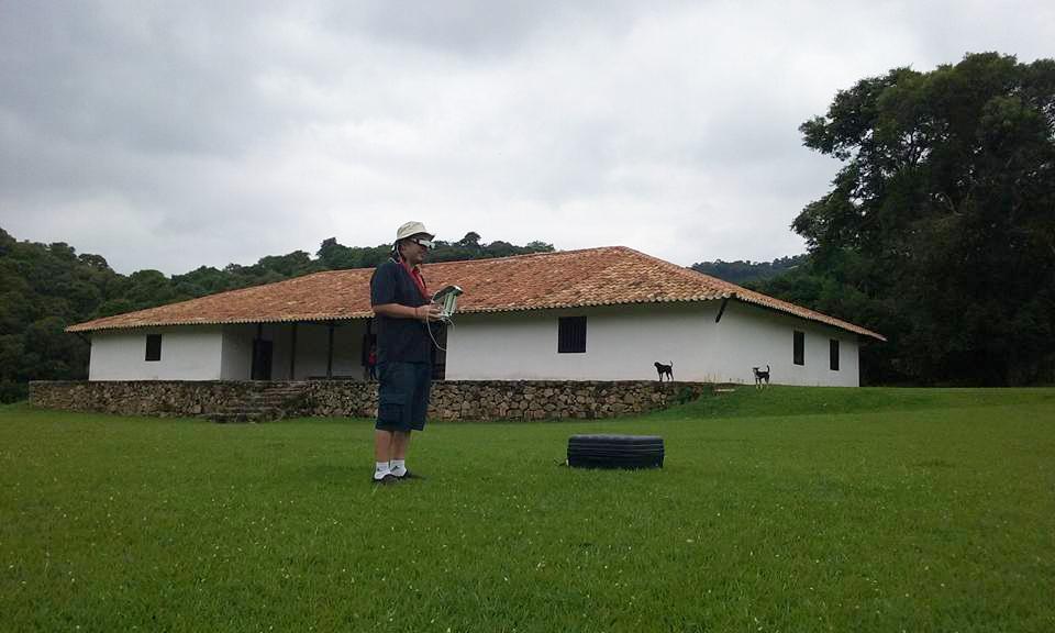 sao roque chapel drone