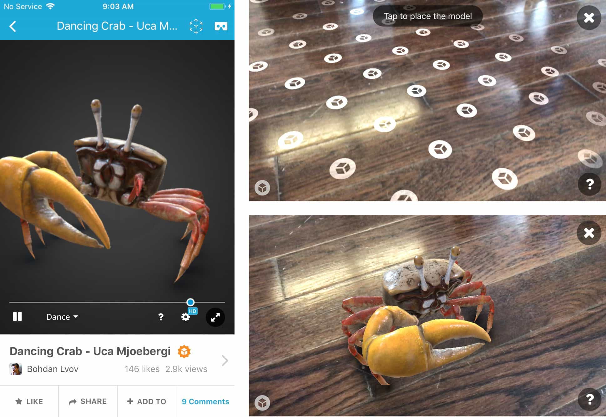 Announcing Sketchfab AR on iOS