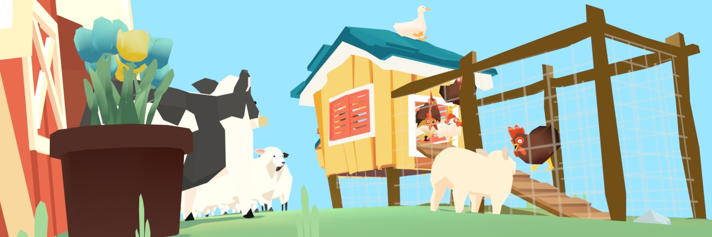 Sketchfab Community Blog - Art Spotlight: Low Poly Farm