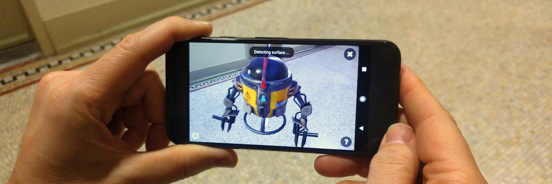 Sketchfab Community Blog - Announcing Sketchfab AR on Android