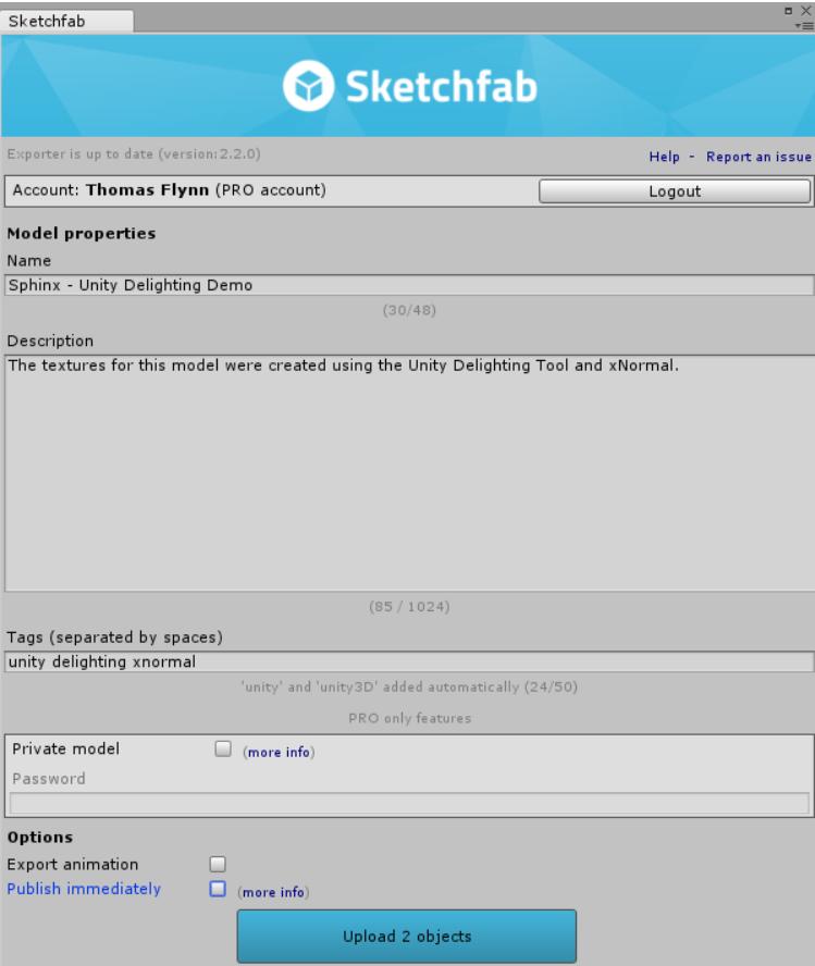 Sketchfab Community Blog - Unity Photogrammetry De-lighting Workflow