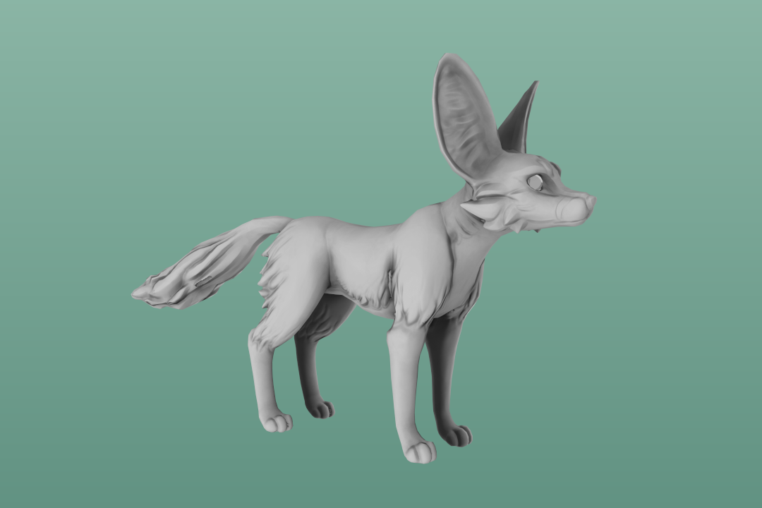 Sketchfab Community Blog - Art Spotlight: Curious Fox