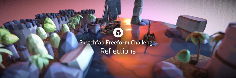 Sketchfab Community Blog - Sketchfab Freeform Challenge: Reflections