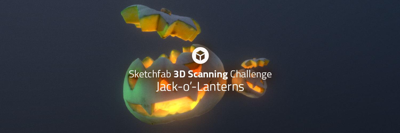 Sketchfab Community Blog - Sketchfab 3D Scanning Challenge: Jack-o