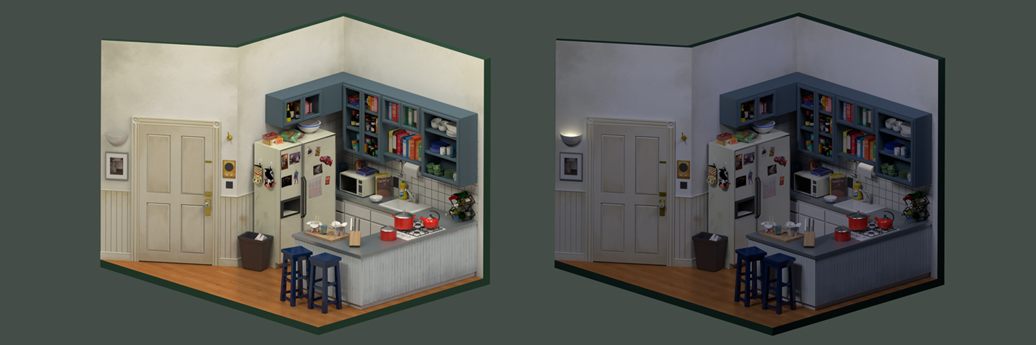 Sketchfab Community Blog Art Spotlight Jerry Seinfeld S Kitchen
