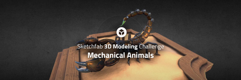 Sketchfab Community Blog - Sketchfab 3D Modeling Challenge