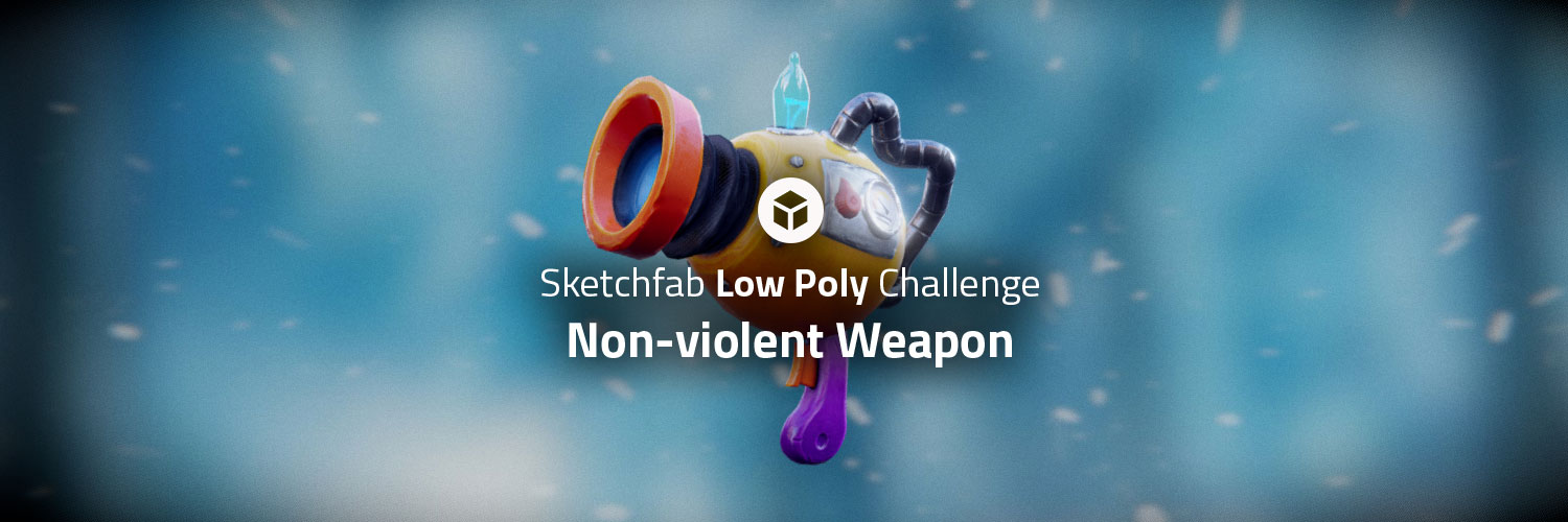 Sketchfab Community Blog - Sketchfab Low Poly Challenge: Non-Violent