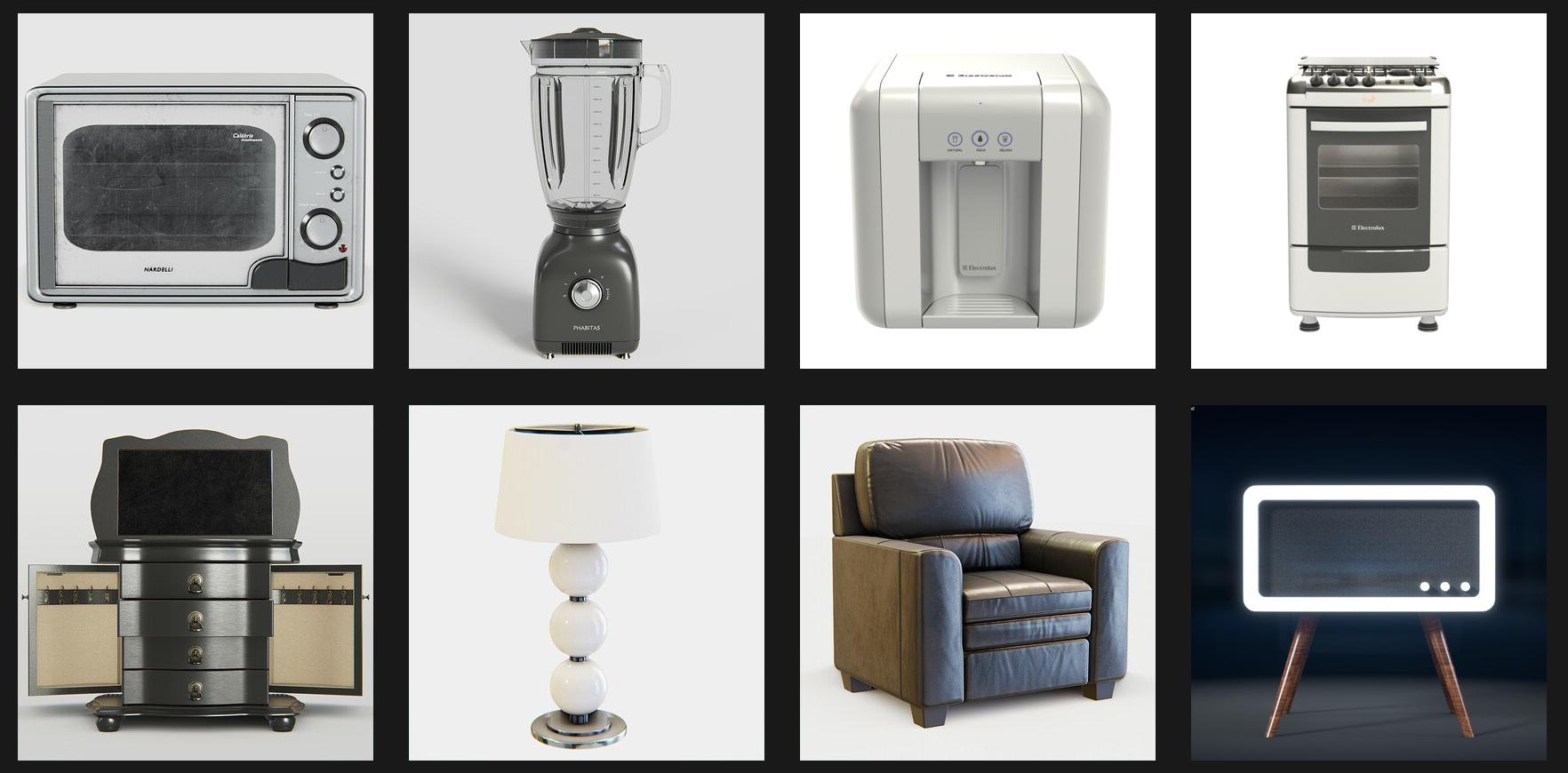 Fabio Orsi 3d furniture