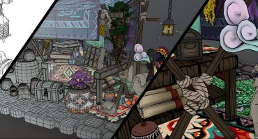 wizard market stall header