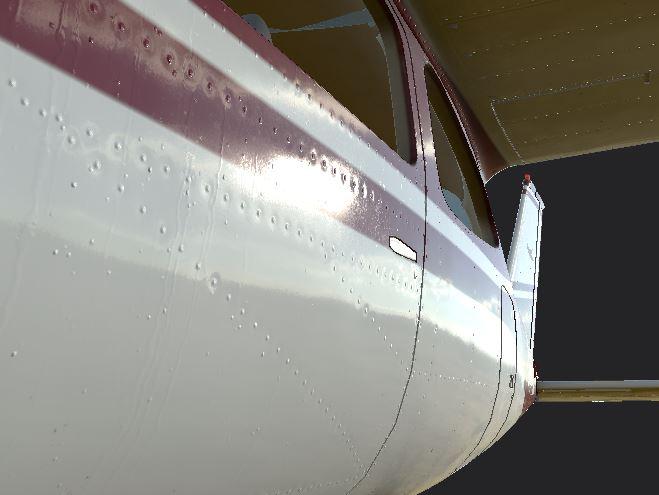 Cessna 177 Cardinal paint