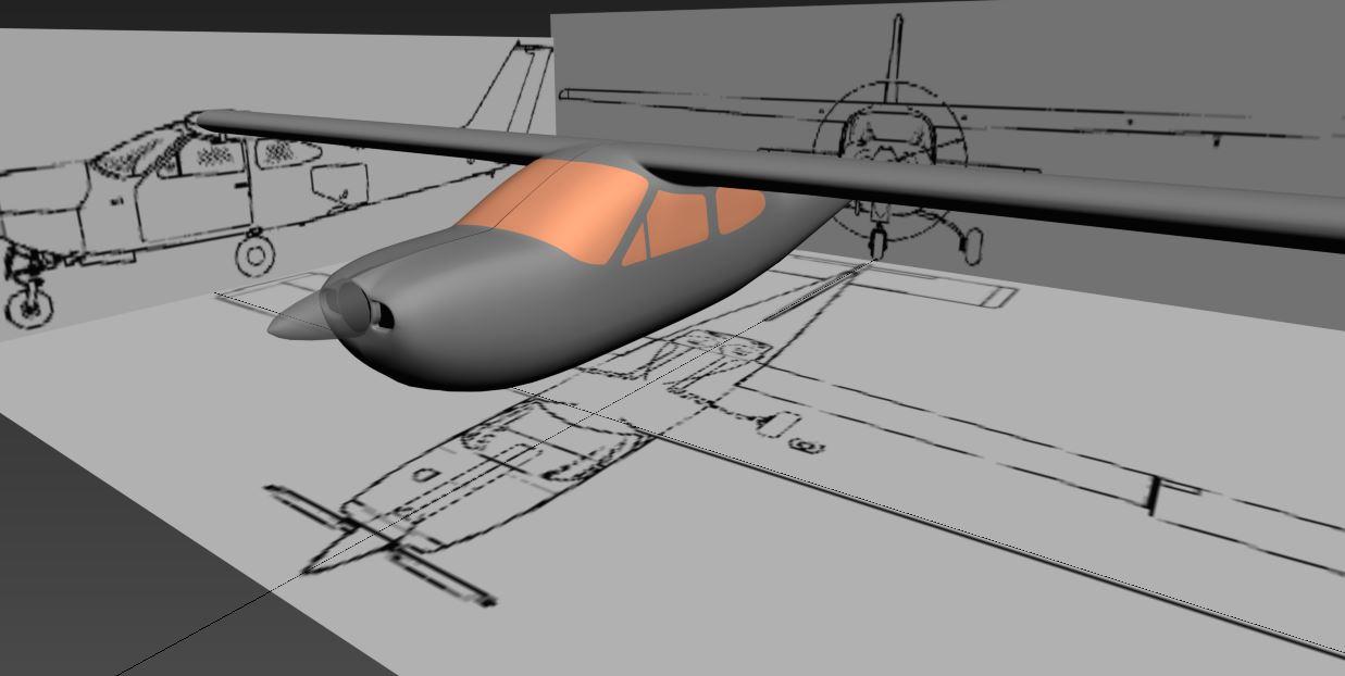 Cessna 177 blueprint