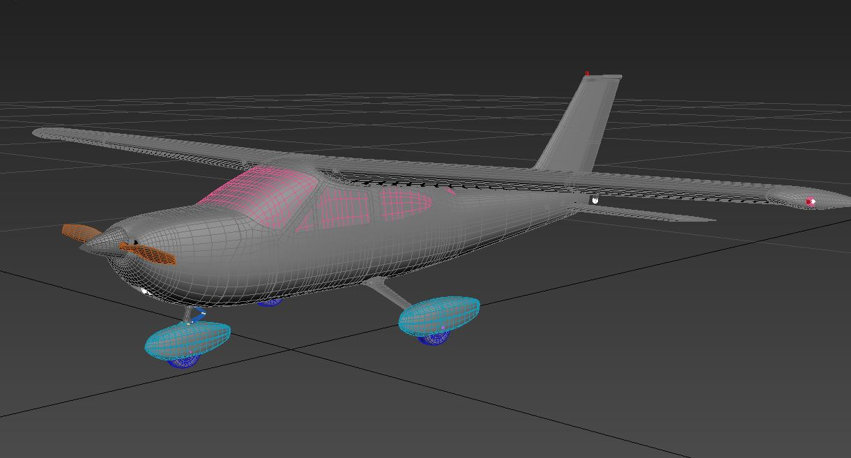 Cessna 177 3D model