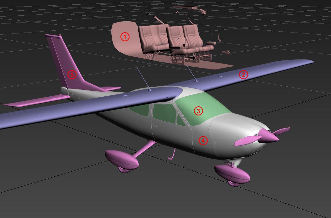 Cessna 177 parts
