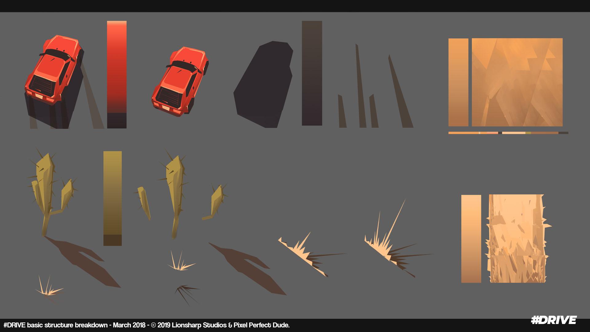 #drive gradient lookdev