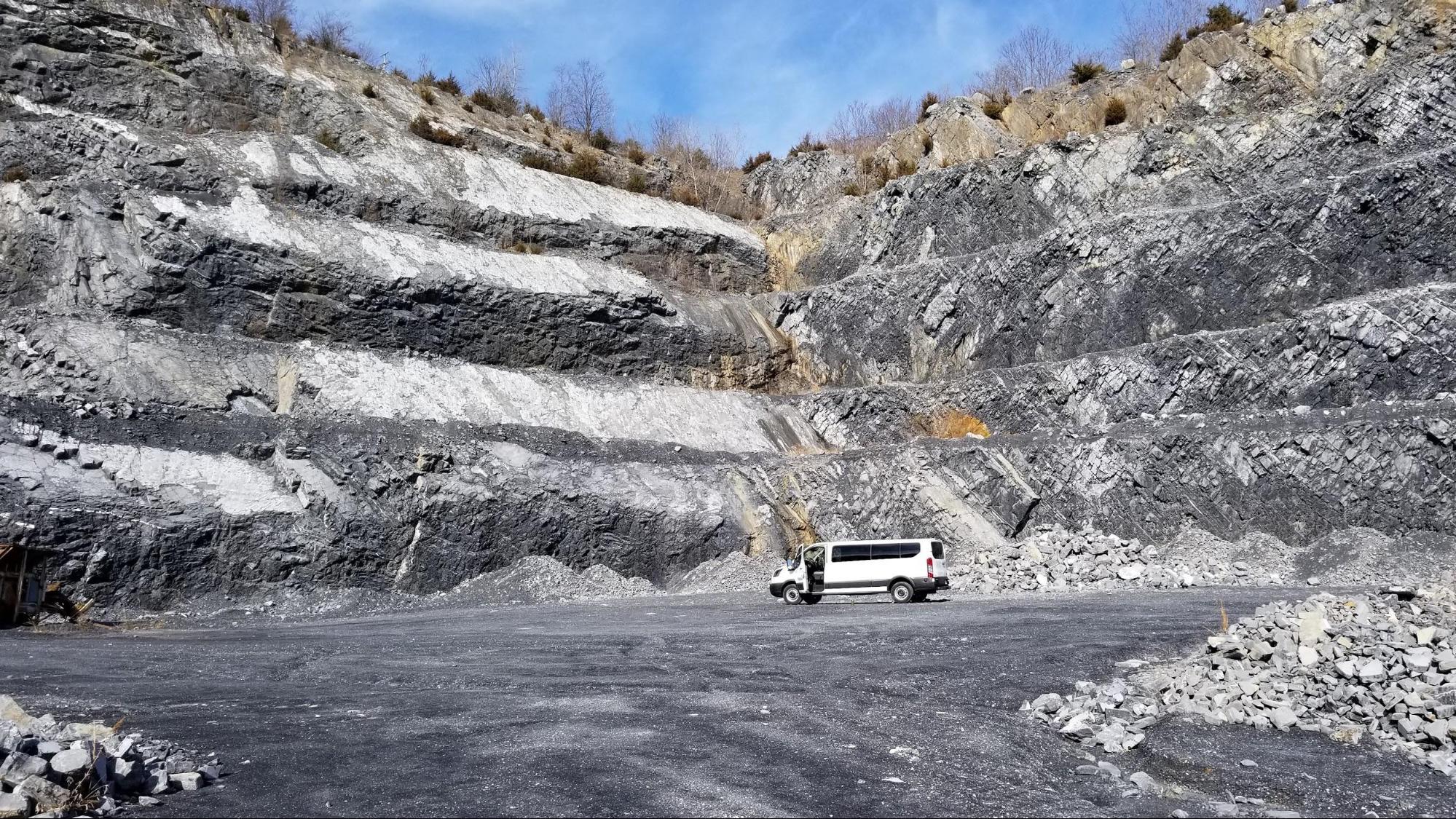 Frazier Quarry geology