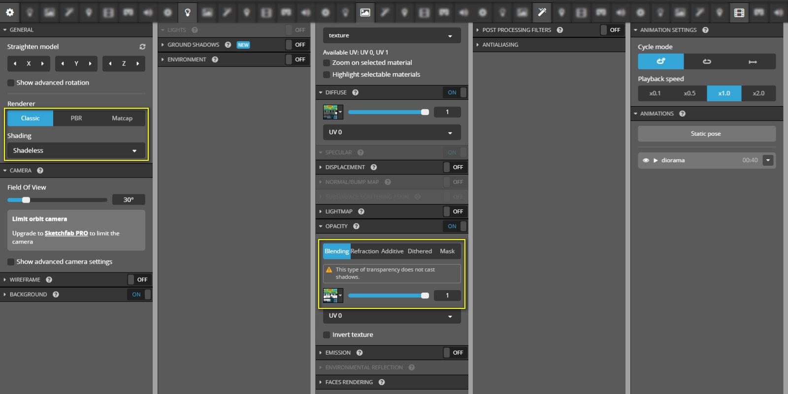 sketchfab 3d editor