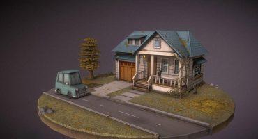 3d house scene header image