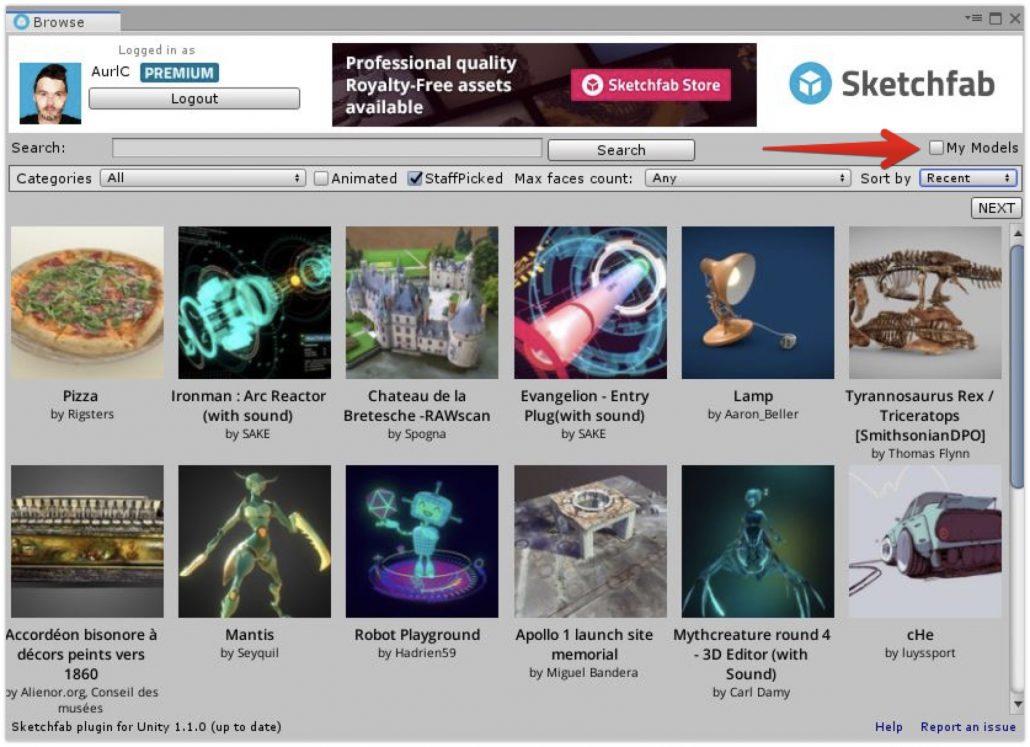 Sketchfab Community Blog - Sketchfab Pro members can now download