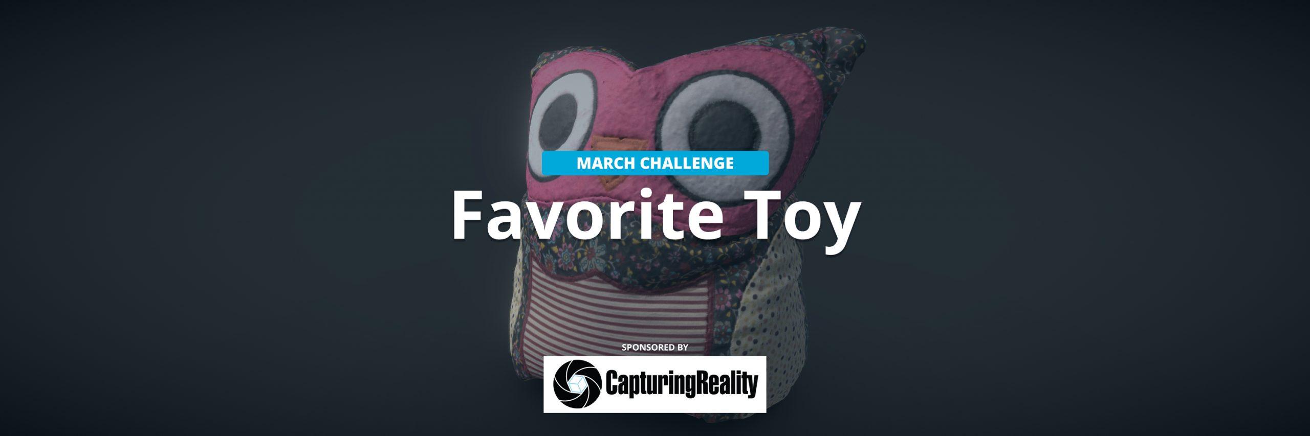 realitycapture toy scanning challenge