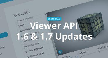 Sketchfab Viewer API 1.6 & 1.7 UV Transformation Demo