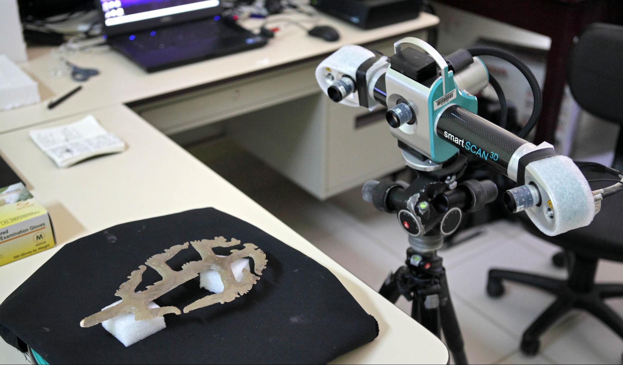 copan maya artifact 3d scan