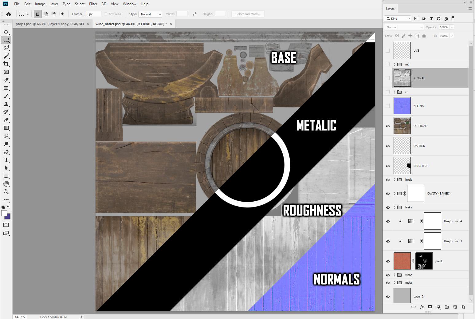 photoshop 3d textures