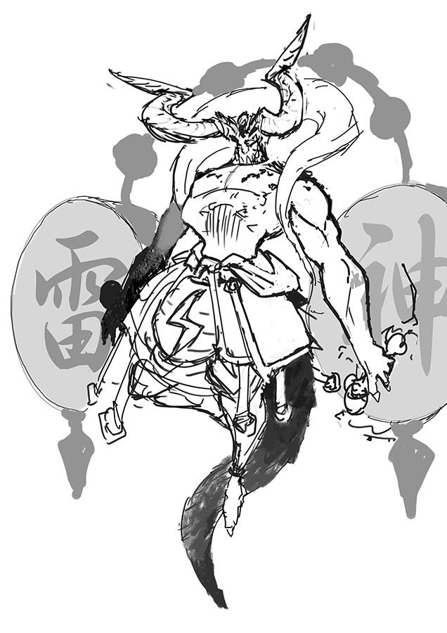 raijin sketch