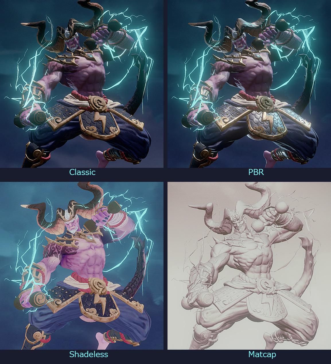 raijin rendering style
