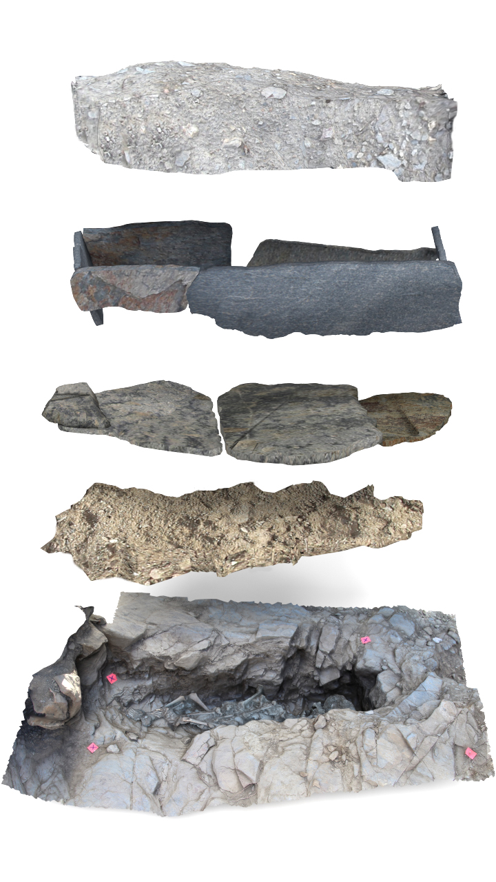 SU levels excavation