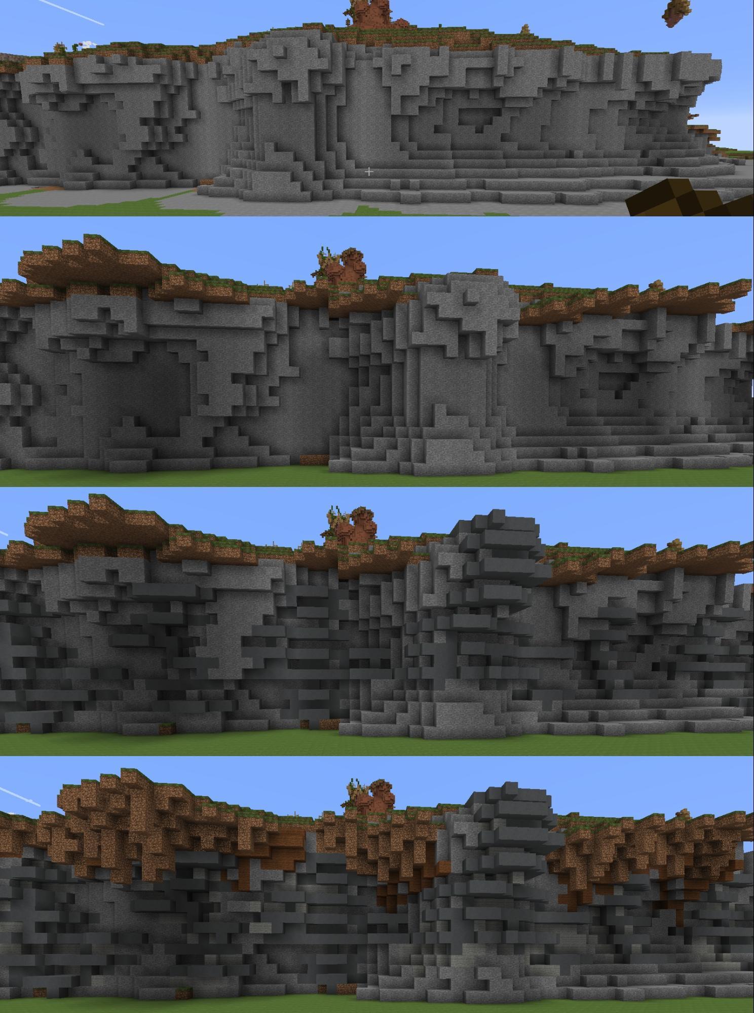 kitpvp map cliffs