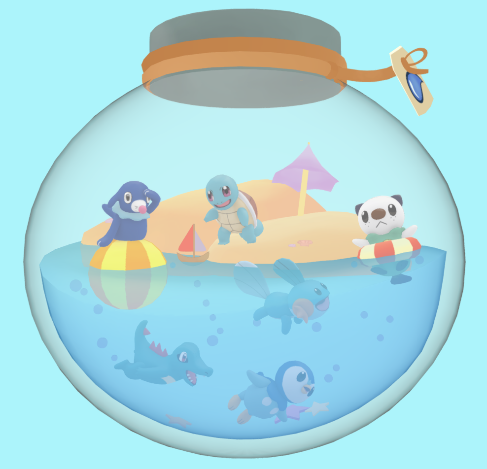 pokemon water terrarium final