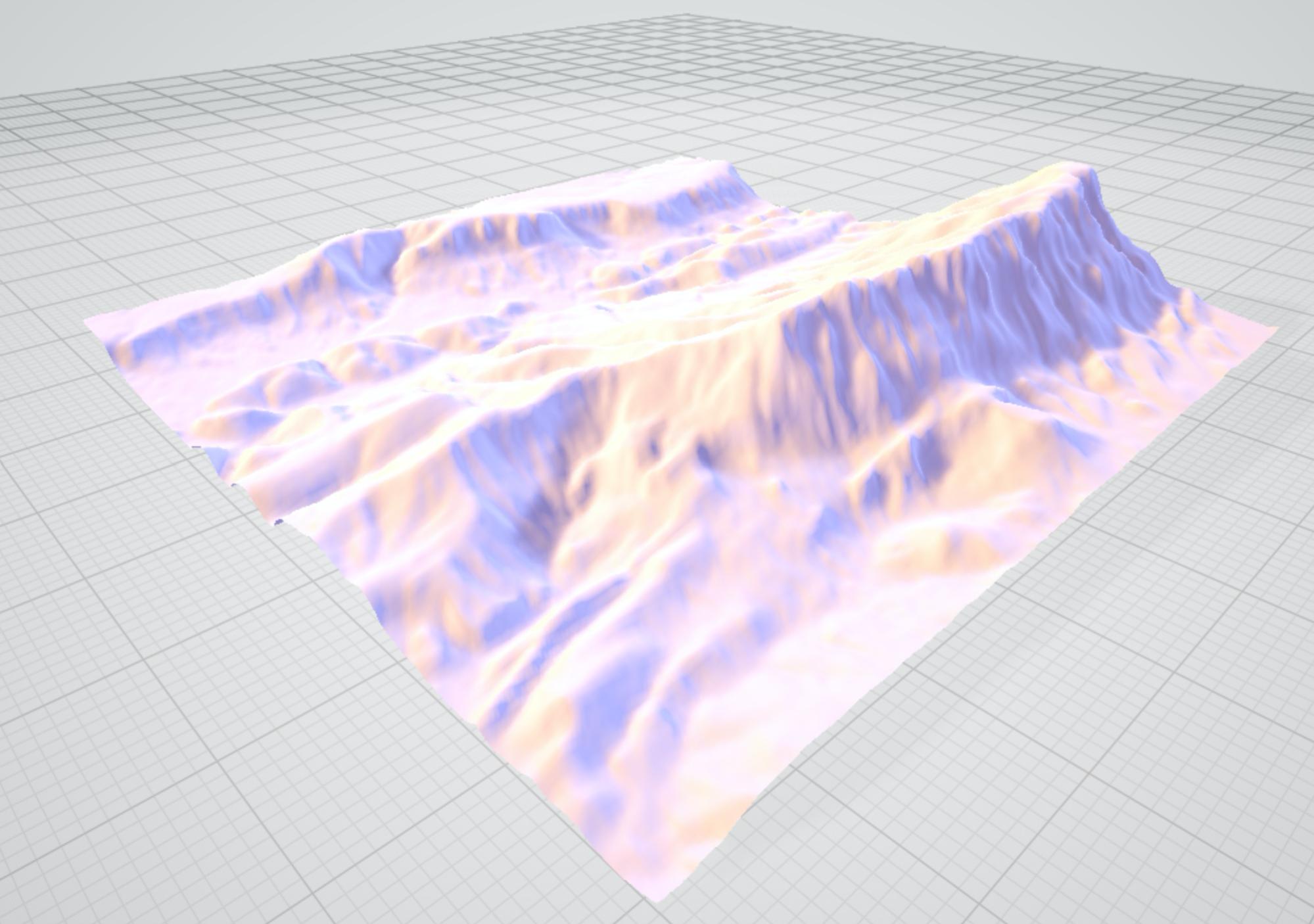 elevation api gltf model
