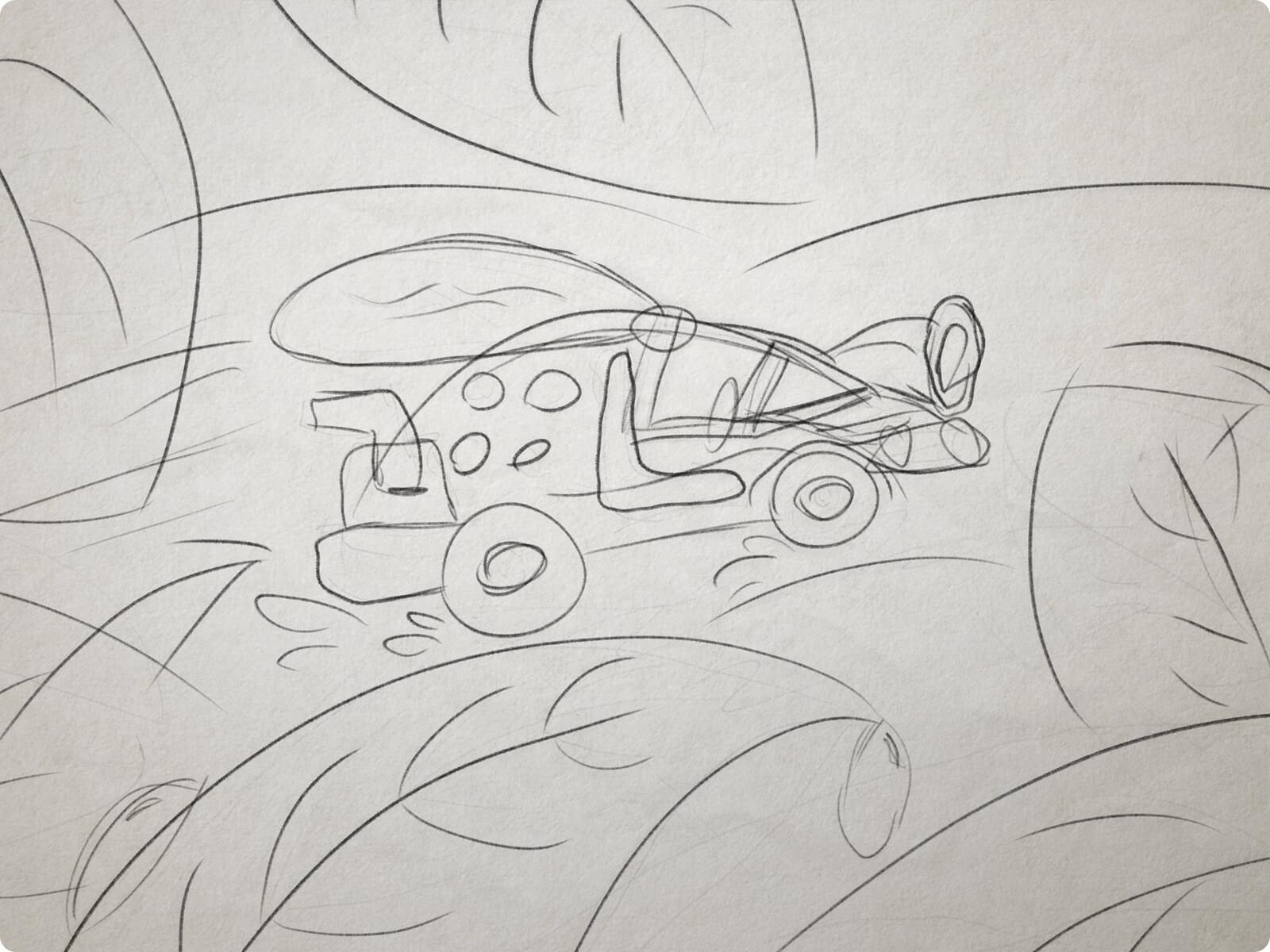 ladybuggy sketch